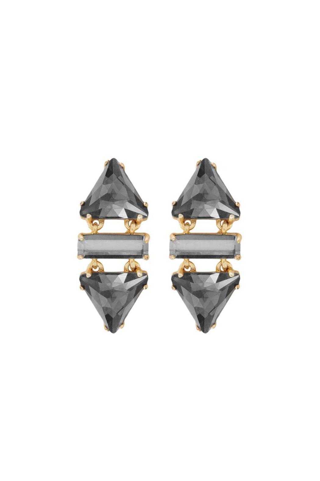 Wanderluster Smoketree Earring - Front Cropped Image