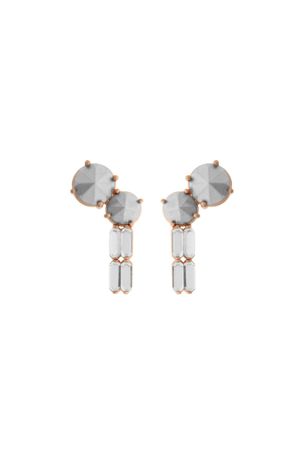 Wanderluster Sun Cup Earrings - Front Cropped Image