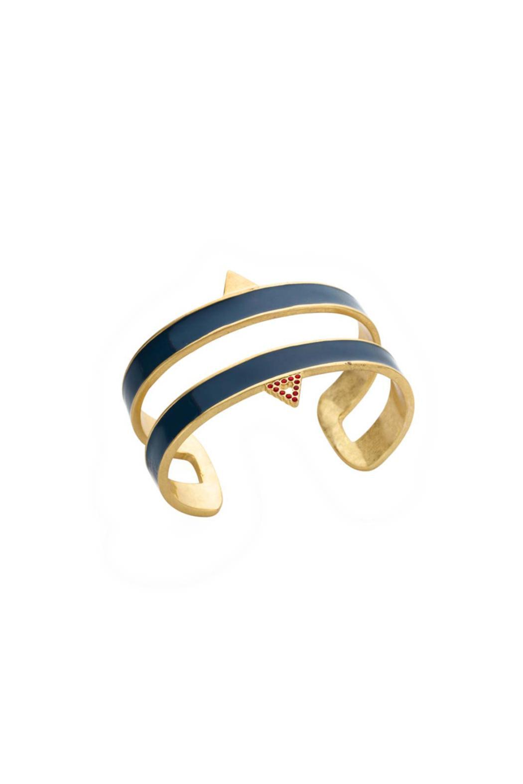 Wanderluster Victoire Bangle - Front Cropped Image
