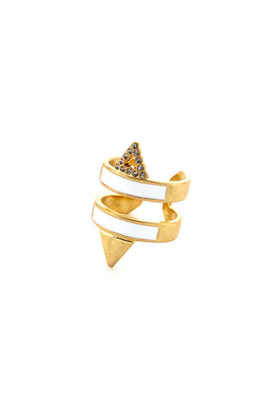 Wanderluster Victoire Ring - Front Cropped Image