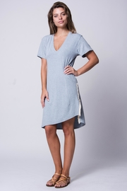 Wanderlux Fringe T-Shirt Dress - Product Mini Image