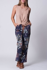 Wanderlux Navy Floral Pant - Product Mini Image
