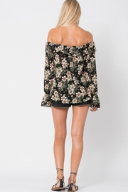 Wanderlux Off Shoulder Floral - Back cropped