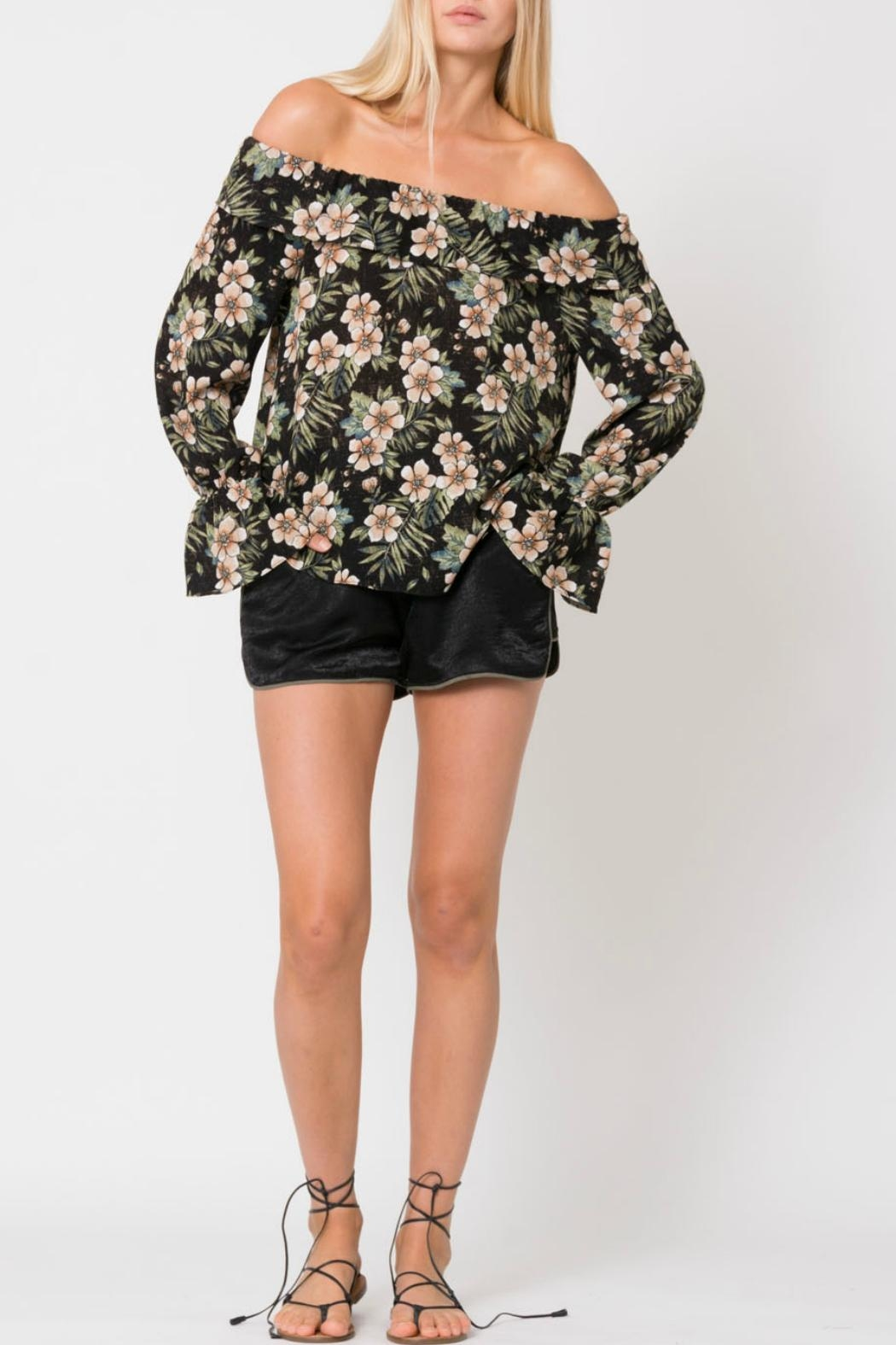 Wanderlux Off Shoulder Floral - Main Image