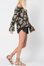 Wanderlux Off Shoulder Floral - Front full body