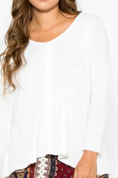 Shoptiques Product: Taryn Henley Pullover