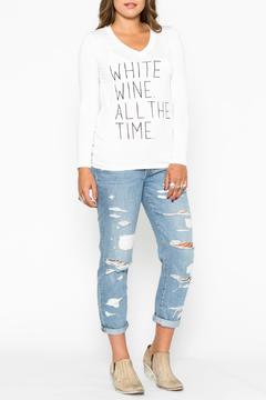 Wanderlux White Wine Tee - Product List Image