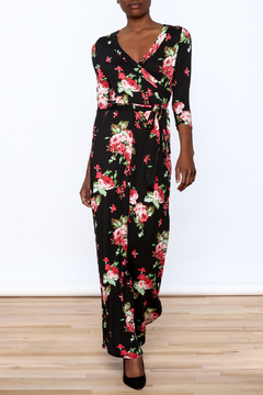 Wanna B Helen Floral Wrap Dress - Product List Image
