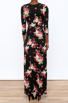 Wanna B Helen Floral Wrap Dress - Alternate List Image