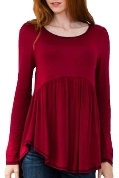 Wanna B Babydoll Ruffle Tunic - Product List Image
