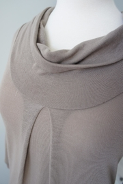 Wanna B Cowl Neck Sweater - Front full body