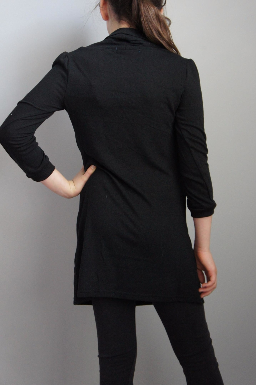Wanna B Cowl Neck Sweater - Front Full Image