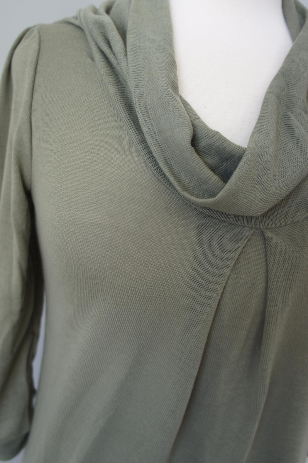 Wanna B Cowl Neck Sweater - Front Cropped Image