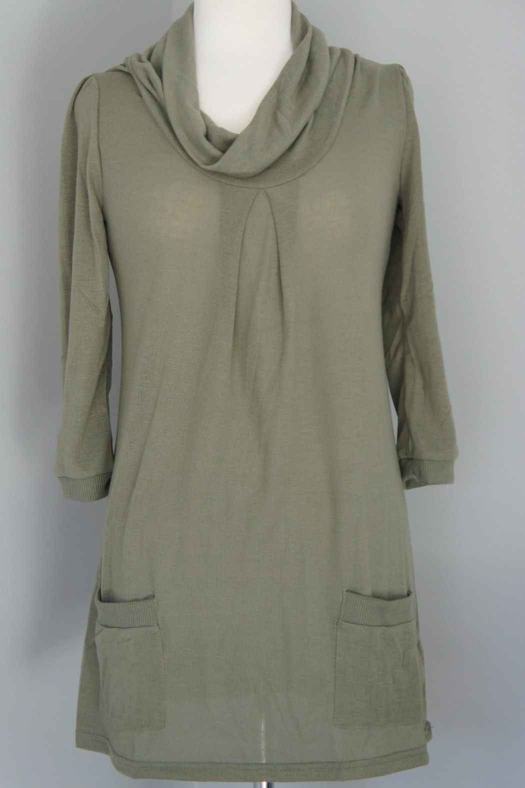 Wanna B Cowl Neck Sweater - Side Cropped Image