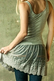 Wanna B Lace Tank Extender - Front full body