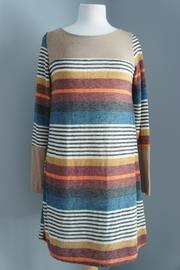Wanna B Striped Sweater Dress - Product Mini Image