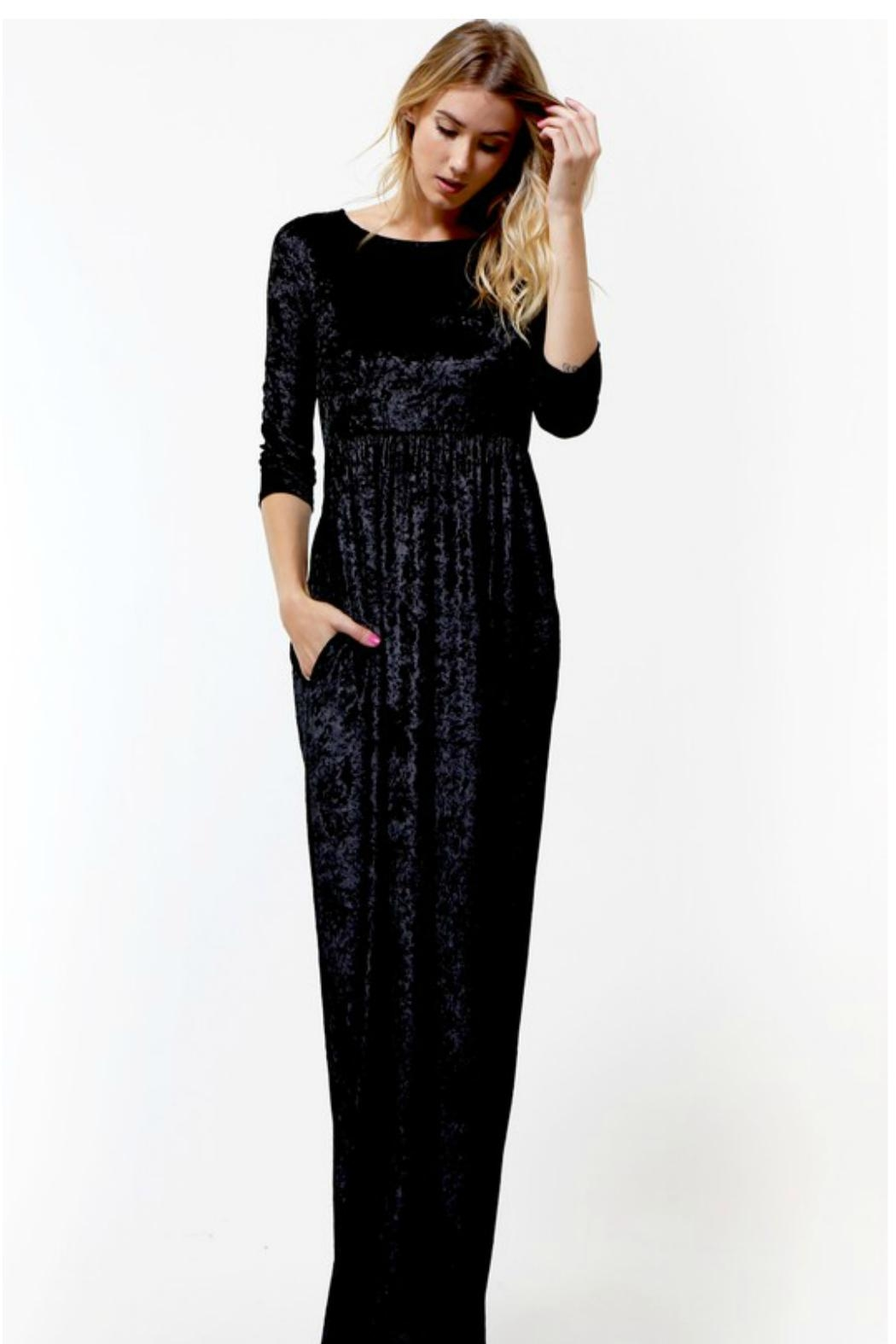 To acquire Maxi Velvet dress pictures pictures trends