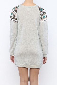 wannab Sweatshirt Dress - Alternate List Image