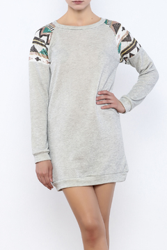 wannab Sweatshirt Dress - Product List Image