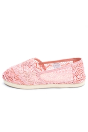 Wanted Sunset Lace Espadrille - Front cropped