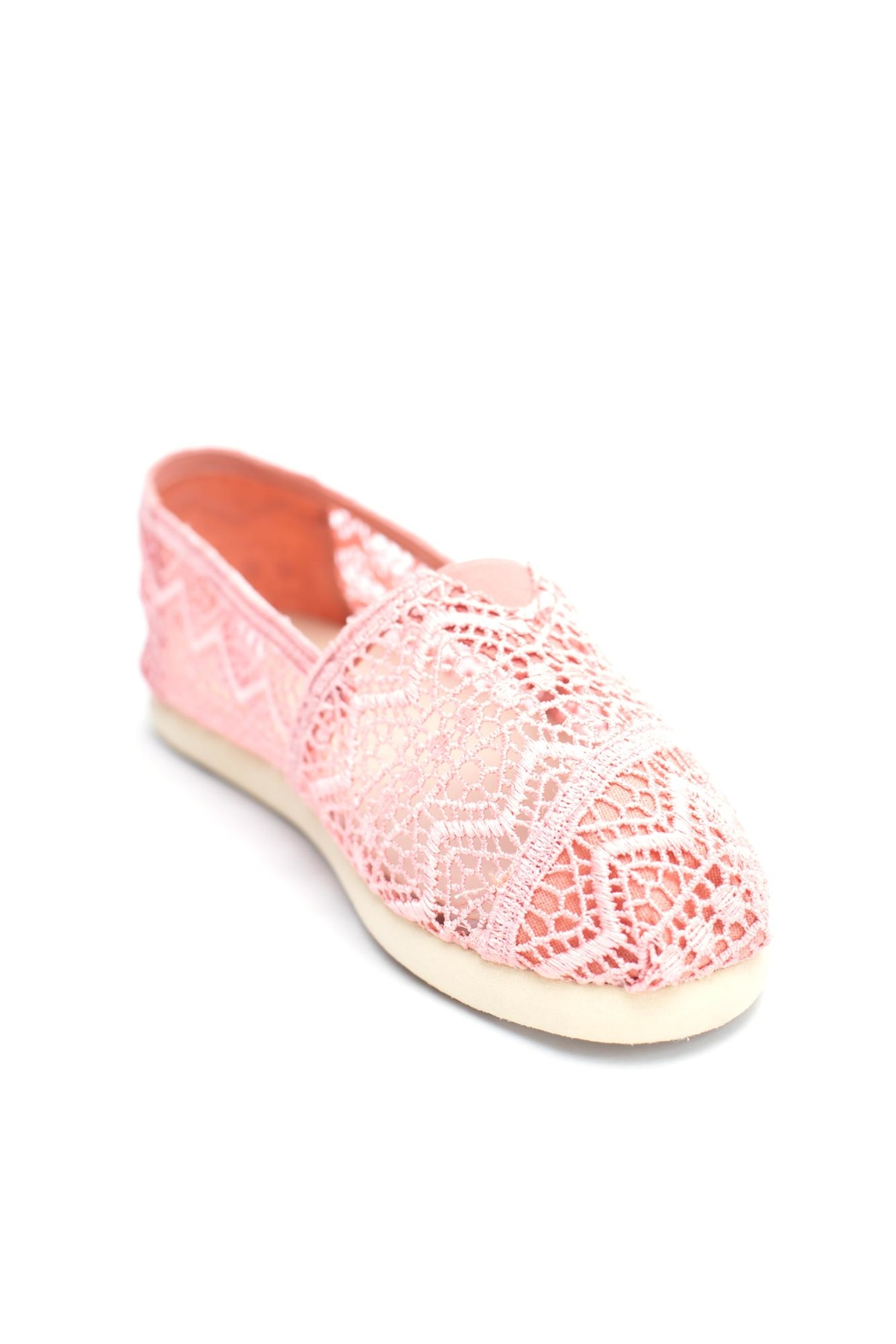 Wanted Sunset Lace Espadrille - Front Full Image