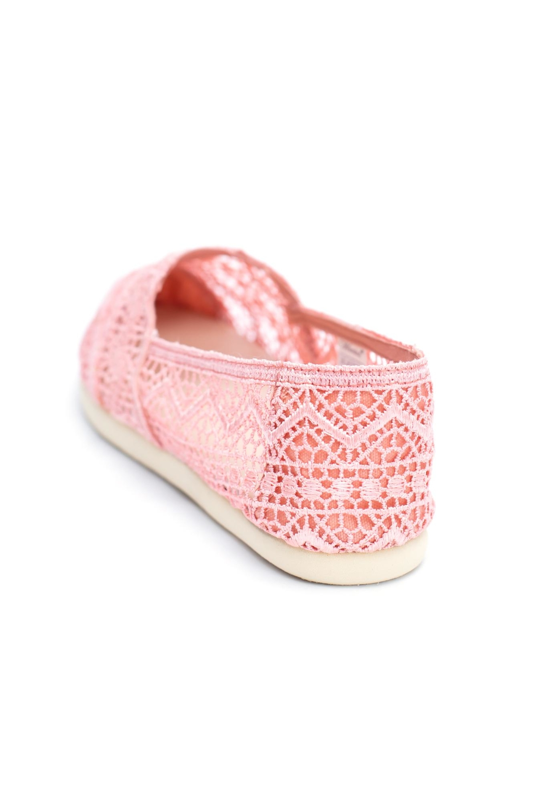 Wanted Sunset Lace Espadrille - Side Cropped Image