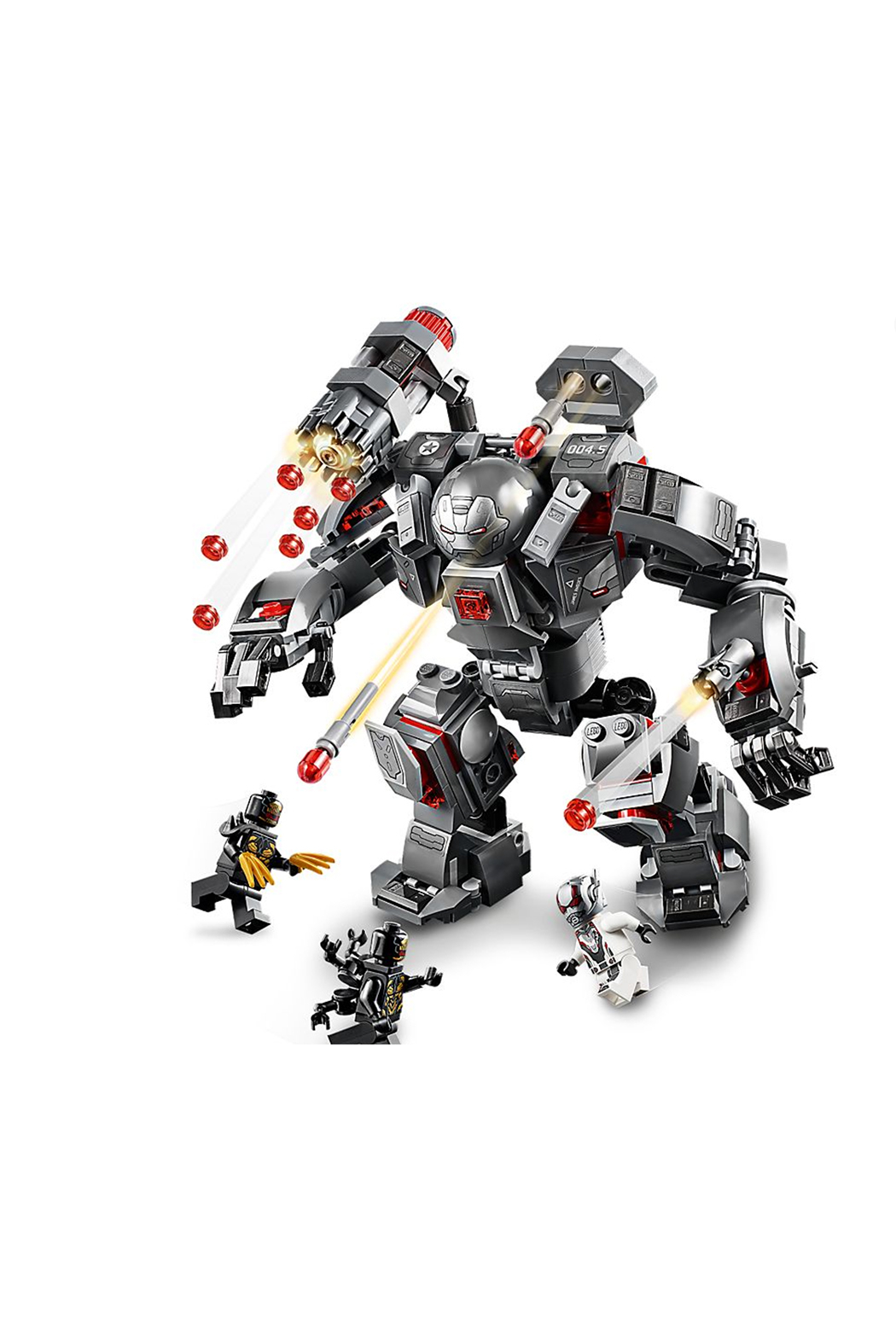LEGO War Machine Buster - Side Cropped Image