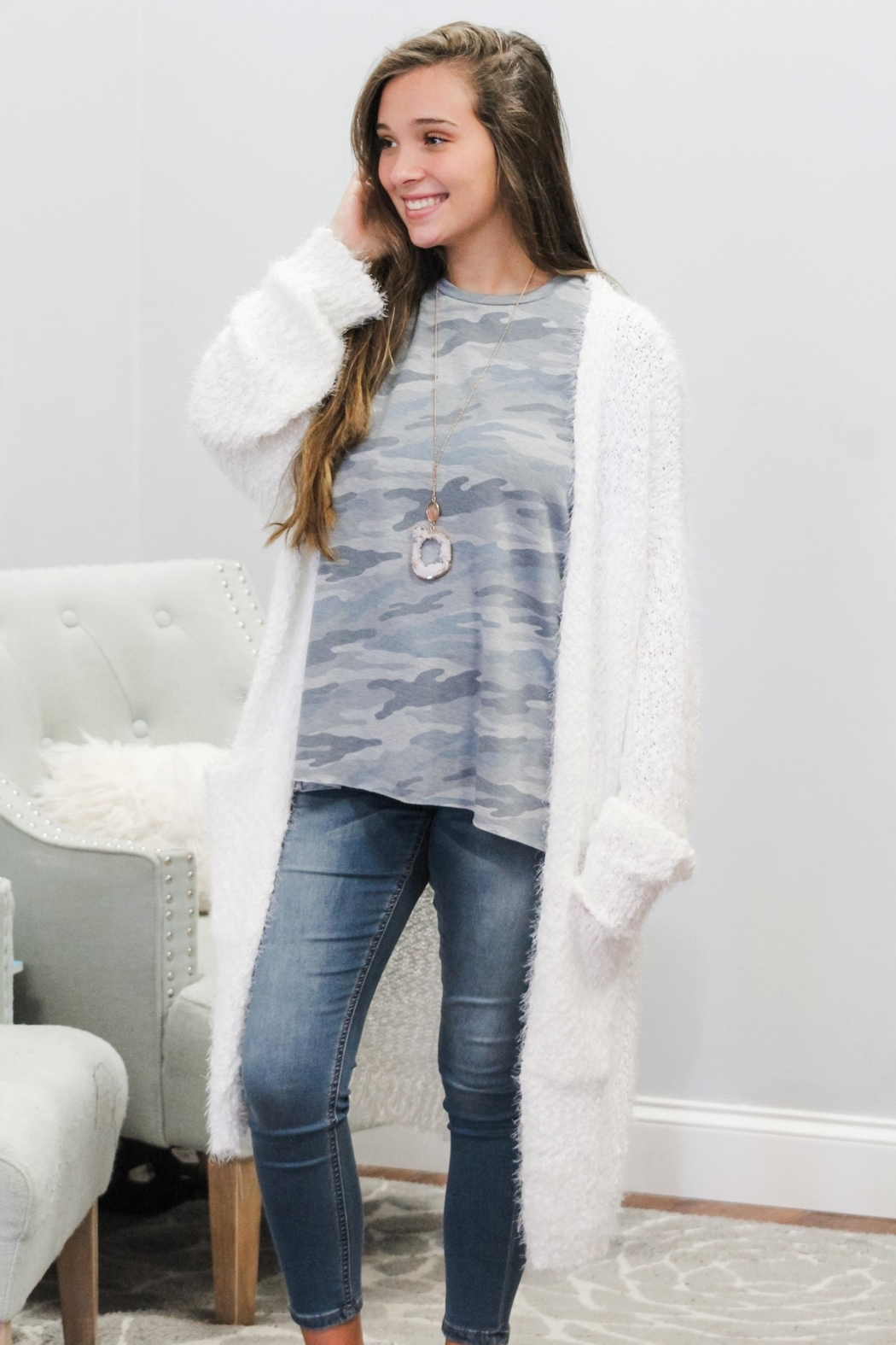 eesome Warm and Cozy Cardigan - Main Image