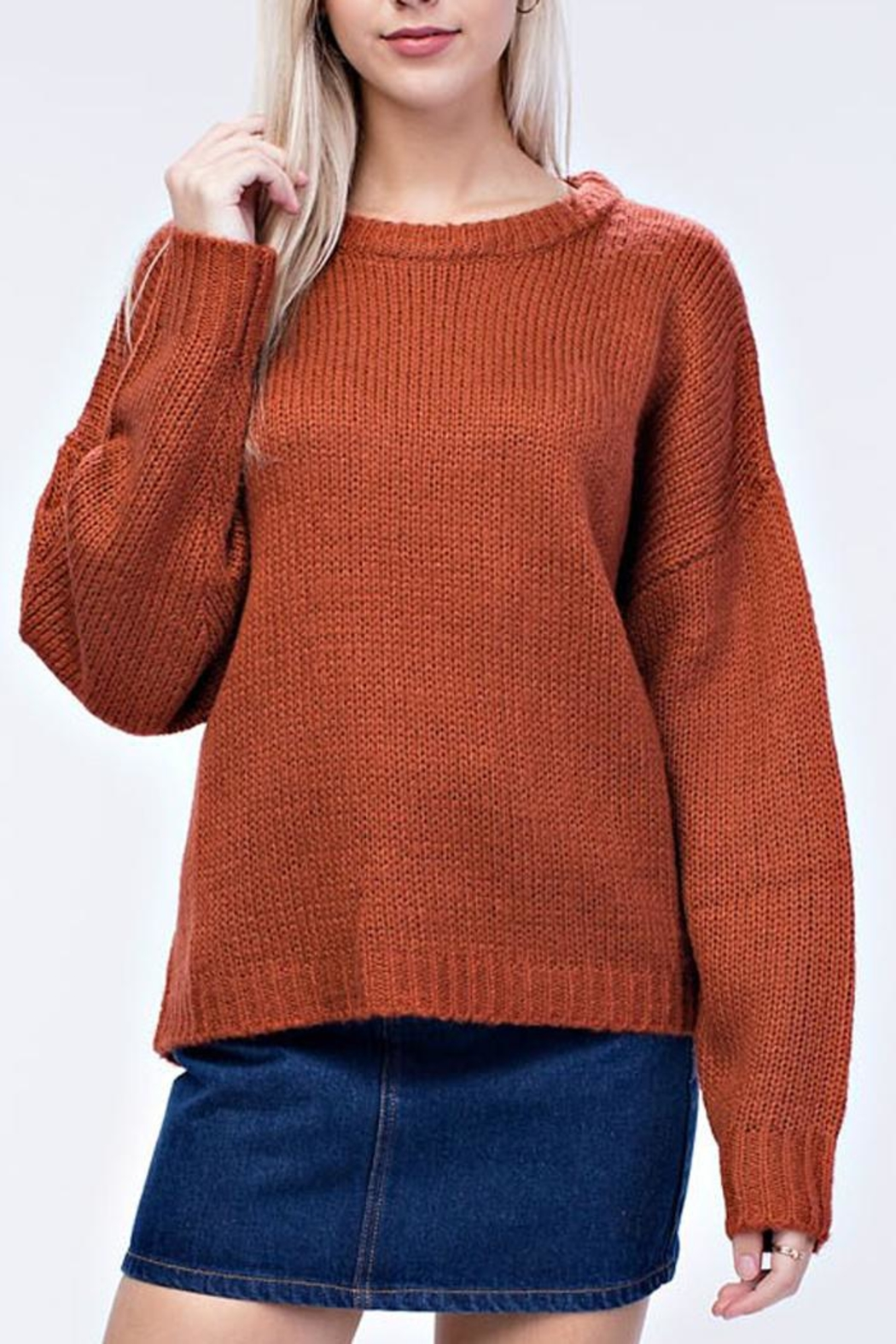 4f724f3b4102 Honey Punch Warm-At-Home Sweater from Orange County by Maple ...