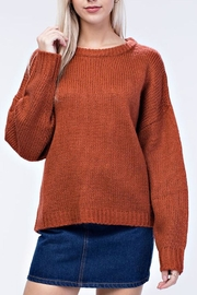 Honey Punch Warm-At-Home Sweater - Product Mini Image