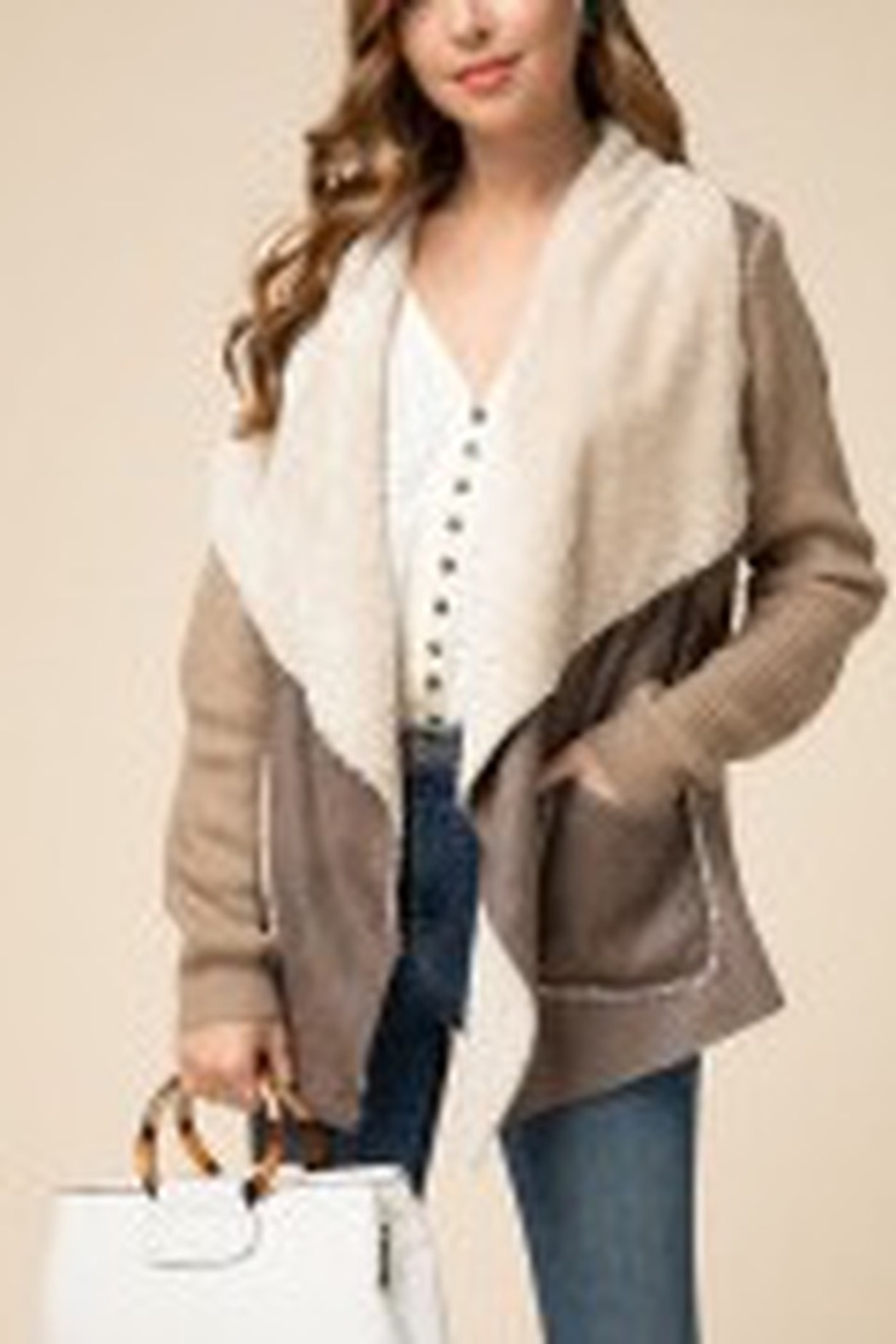 Entro  Warm My Heart jacket - Front Cropped Image