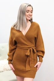 Meek Warm Winter Belted Dress - Product Mini Image