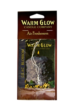 Warm Glow Candle Company Lilac-Blossom Air Freshener - Alternate List Image