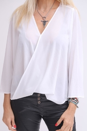 Dana Ashkenazi Wrap Shirt - Product Mini Image