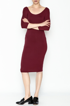 Shoptiques Product: Long Sleeve Midi Dress