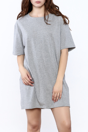 Wasabi + Mint Grey Shirt Dress - Product Mini Image
