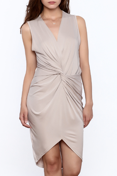 Shoptiques Product: Sleeveless Knotted Dress