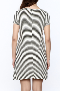 Wasabi + Mint Stripe Short Sleeve Dress - Alternate List Image