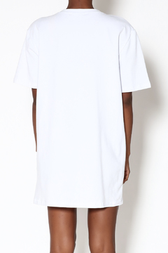 Wasabi + Mint White T-Shirt Dress - Alternate List Image