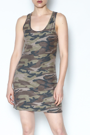 Wasabi Camo Tank Dress - Product Mini Image