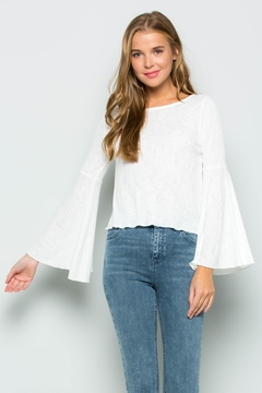 Shoptiques Product: Bell Sleeve Tee