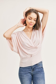Wasabi + Mint Kimono Short Sleeve Top - Product Mini Image