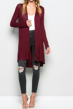 Shoptiques Product: Long Open Cardigan