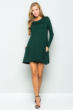 Shoptiques Product: Green Tee Dress
