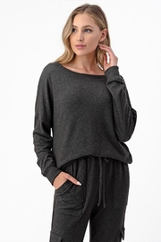 Wasabi + Mint Pullover Sweater Top - Product Mini Image