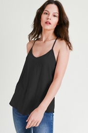 Wasabi + Mint Racerback Tank Top - Front cropped