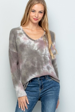 Shoptiques Product: Soft Tiedye Sweater