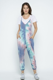 Wasabi + Mint Tie Dye Jumpsuit - Product Mini Image