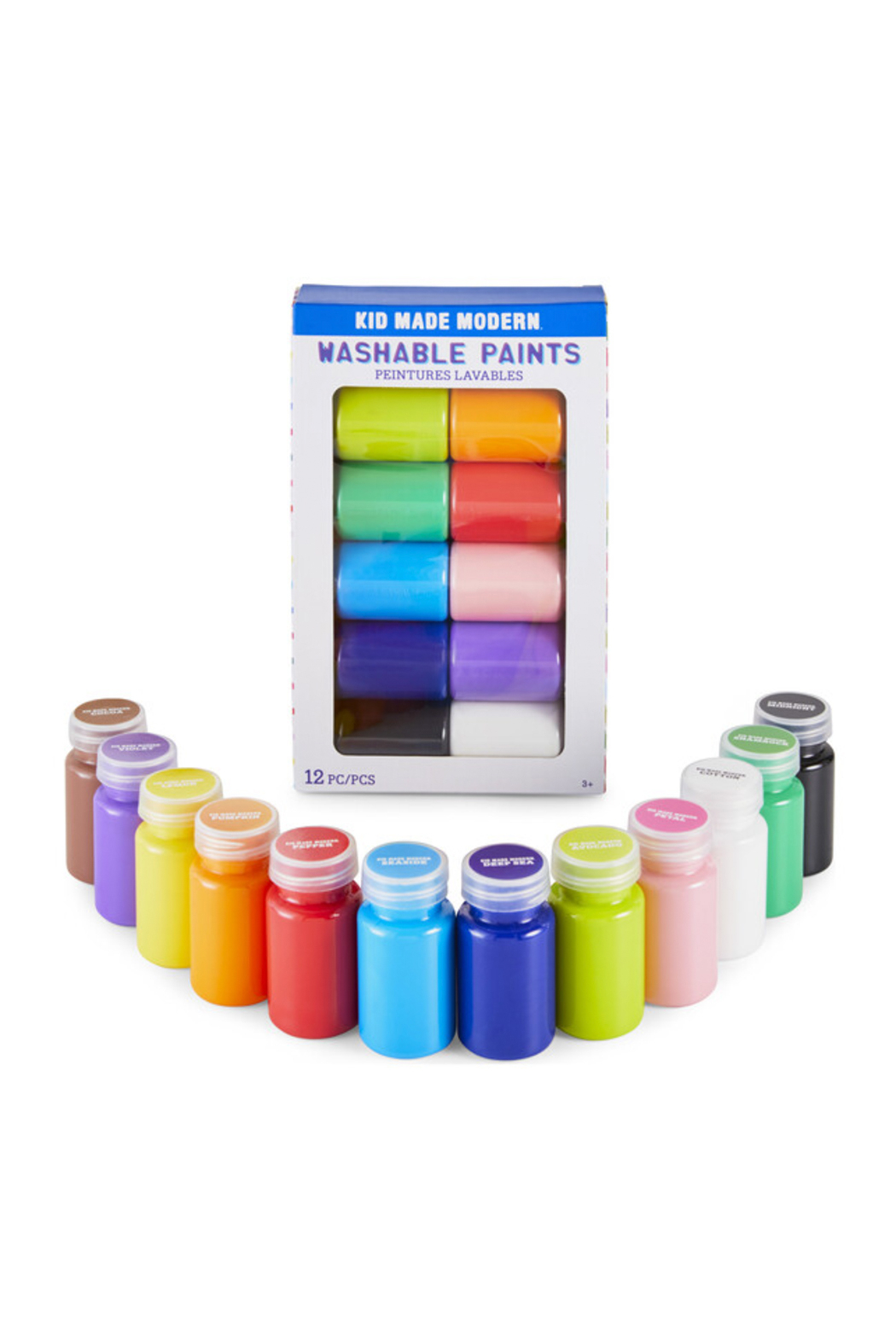 Kid Made Modern Washable Paints 12 Piece Set - Main Image