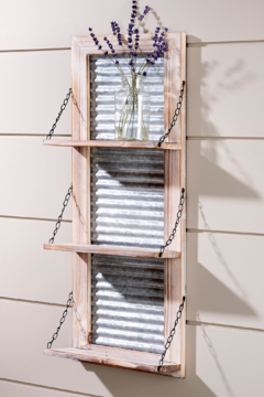 Shoptiques Product: Washboard Wall Shelf